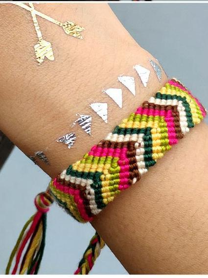 Creative Bohemian Hand-Woven Adjustable Bracelet