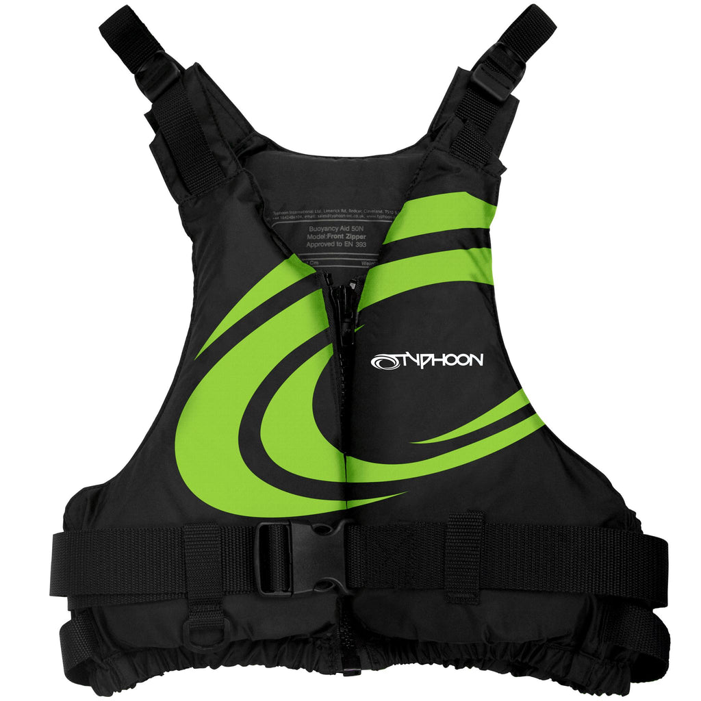 Typhoon Yalu Wave 50N Buoyancy Aid | Green