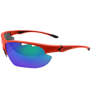 Zone3 Sprint Glasses | Coral/Blue