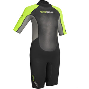 Gul Response 3/2mm Junior Shortie Wetsuit | Black/Lime