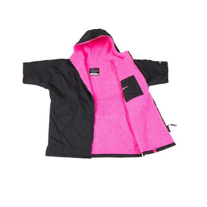 dryrobe Kid's Advance Short Sleeve Dryrobe Changing Robe | Pink