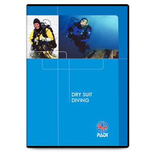 PADI Dry Suit Diving DVD