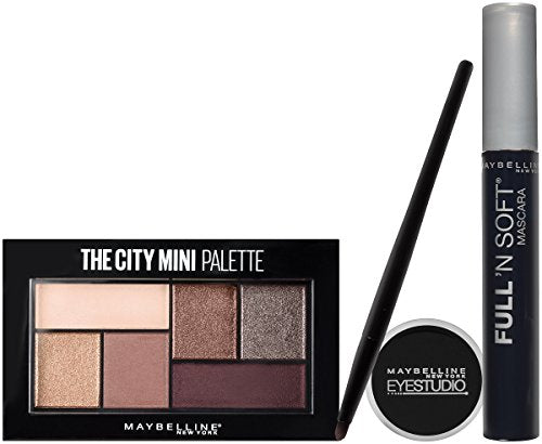 Maybelline New York Ny Minute Mascara Eye Makeup Gift Set, City Cat Eye