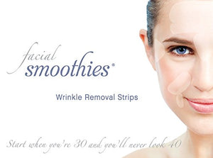 Facial Smoothies Wrinkle Remover Strips - Rapid Anti-Wrinkle Treatment