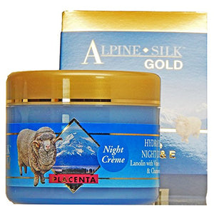Alpine Silk Placenta Night Cream