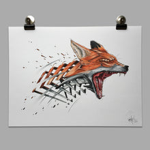 "Load image into Gallery viewer, Fine Art Print ""Fox Slice"""