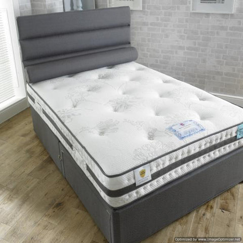 Vogue Beds Small Double Pocket Spring Mattress And Bed-Better Bed Company