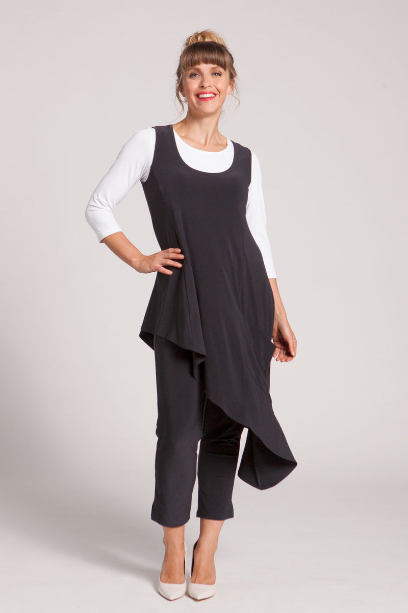 Sympli Sleeveless Drifter Tunic