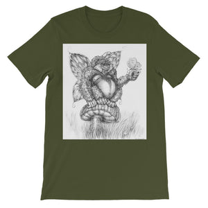 Pickles (The Fairy-Gorilla) Short Sleeve T-shirt