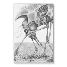 Load image into Gallery viewer, Giant Alien Bug Stretched Canvas