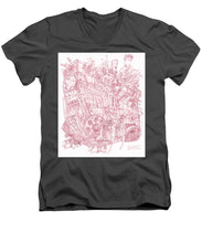 Load image into Gallery viewer, Pink Rumble Tank - Men's V-Neck T-Shirt