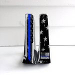 Thin Blue Line Stirrups