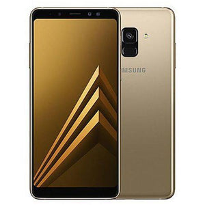 Samsung Galaxy A8 Plus (4GB, 64GB) 2018  Gold - Bahria Stores