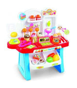 Kids Children Pretend Play Realistic Mini Market Shopping Toy Set With Accessories