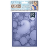 Sara Signature Collection - Nautical - 5x7 3D Embossing Folder - Seashell Medley
