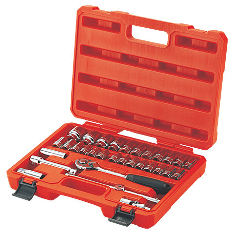 BESITA 6104 32 PCS 12.5MM METRIC 6-PT SOCKET SET