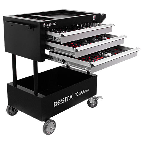 BESITA 6604 158 PCS TROLLEY TOOL SET