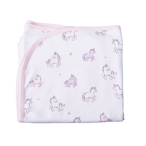 UNICORN DOUBLE SIDED BLANKET