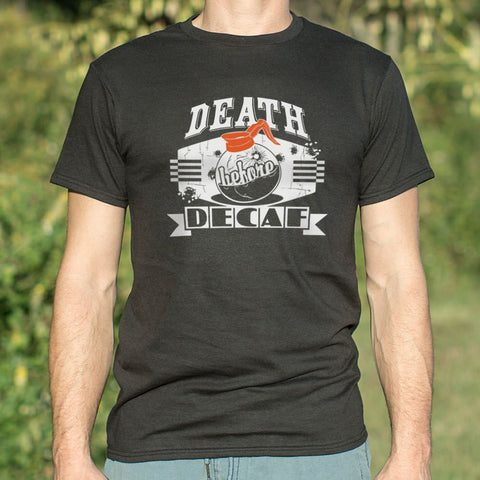 Death Before Decaf T-Shirt (Mens)