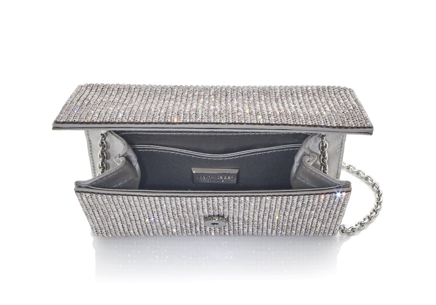 Fizzy Champagne Crystal Clutch