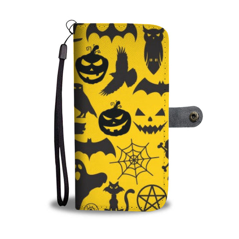 Yellow Halloween - Wallet case - fastandtune
