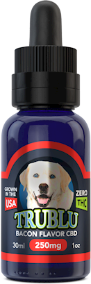 Blue Moon PETS- Tru Blu Bacon K9 Tincture 250 mg