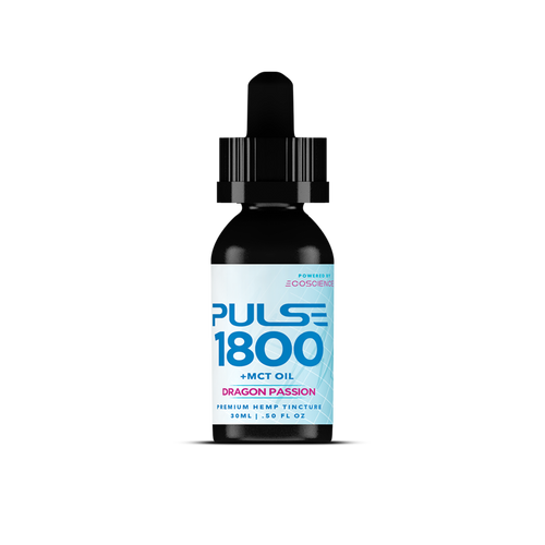 Pulse CBD Tincture 1800mg +MCT Oil - Full Spectrum 15ml