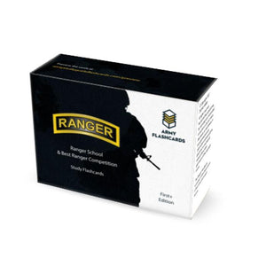 Ranger School / Best Ranger Competition Flash Cards