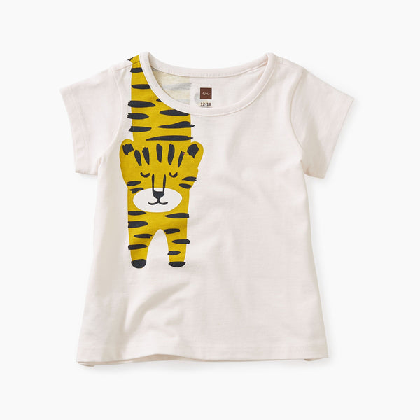 Tiger Turn Baby Graphic Tee Silkworm
