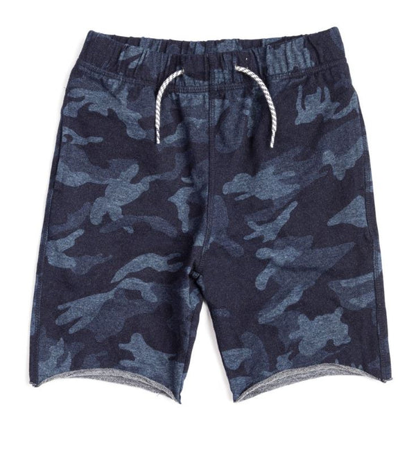 Camp Shorts Indigo Camo