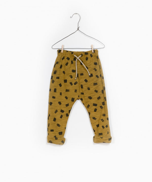 Printed Jersey Trouser Olive Pattern