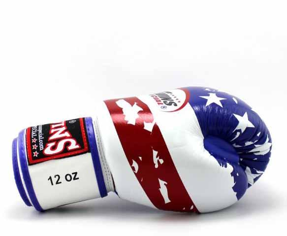 Twins United-States Signature Boxing Gloves - Velcro Wrist