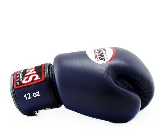 Twins Boxing Gloves- Premium Leather w/ Velcro - Dark Colors - Maroon, Dark Brown, Green, Navy, Purple