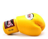 Yellow Twins Boxing Gloves - Velcro Wrist
