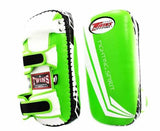 Twins White-Green Signature Focus Mitts- Punching, Boxing, MMA, Muay Thai
