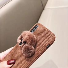 "Load image into Gallery viewer, ""POODLE LOVE"" IPHONE CASE"