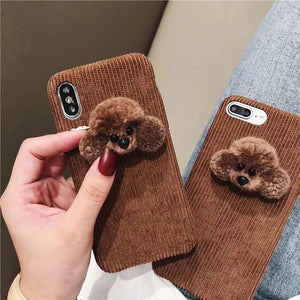"""POODLE LOVE"" IPHONE CASE"