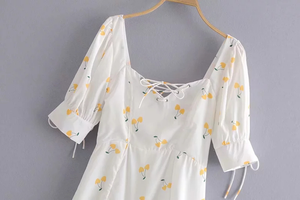 """DAISY CHERRIES"" DRESS"