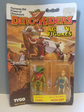 Load image into Gallery viewer, 1987 Dino Riders Evil Fang and Heroic Mercury in Package
