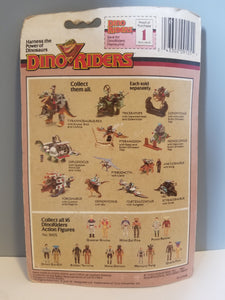 1987 Dino Riders Evil Fang and Heroic Mercury in Package