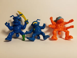 1987 Loose Orange & Blue Army Ants Beater Lot