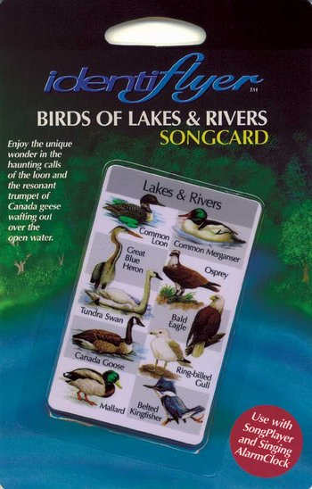 Lakes and Rivers SongCard