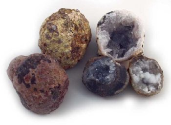 Smashable Geodes set of 3