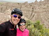 Kurt & DeAnn, äventyr Owners, Badlands National Park