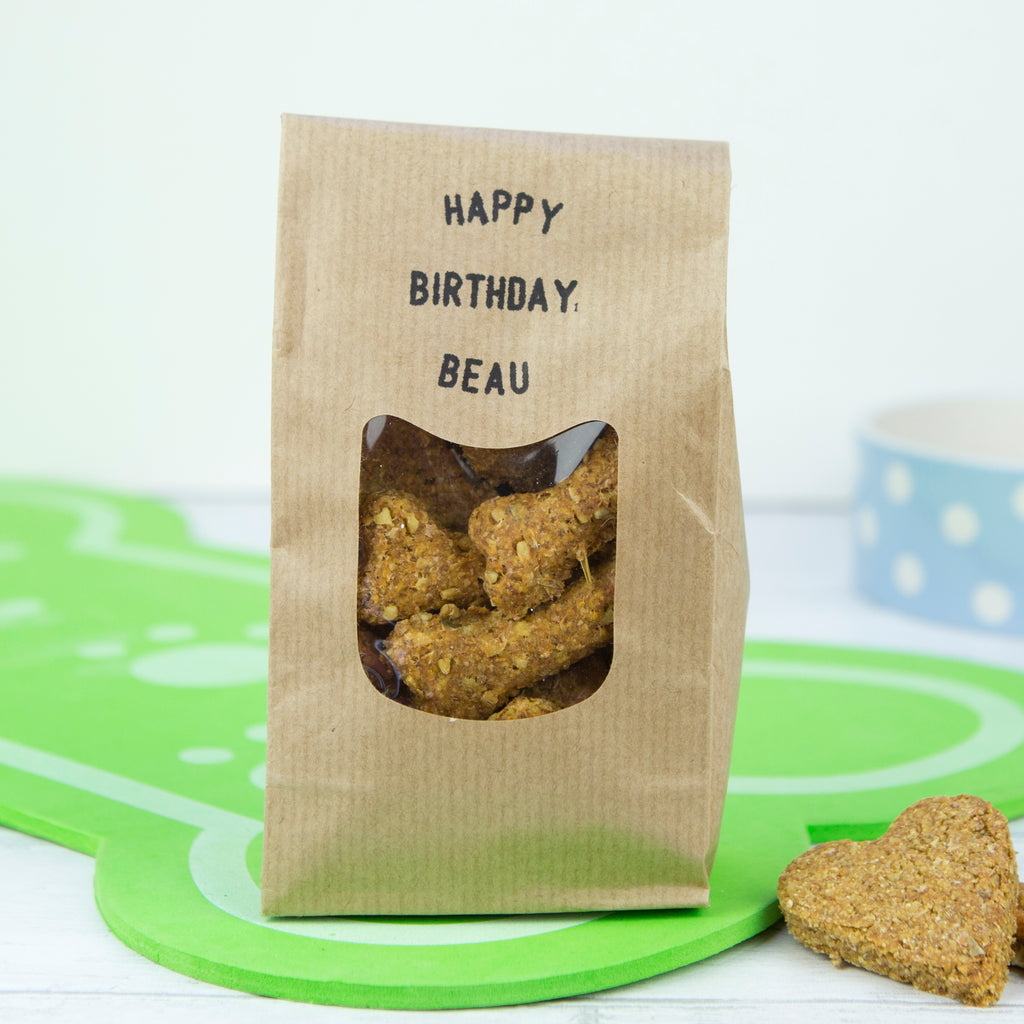 Happy Birthday Personalised Dog Treats