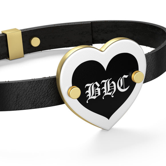 BHC OG Logo Leather Bracelet