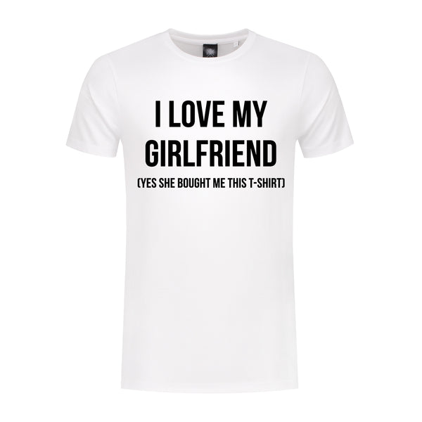 T-Shirt Love My Girlfriend
