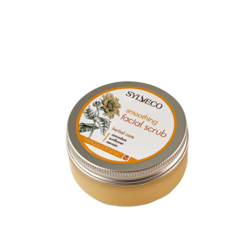 Smoothing Facial Scrub, Facial scrubs, Sylveco, Nat-ul