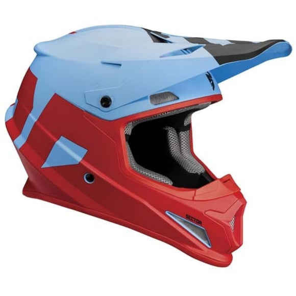 Thor Sector Helmet Level Blue/Red