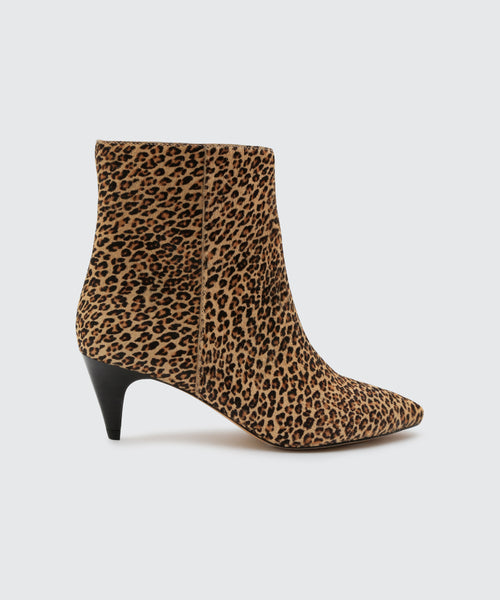 DEEDEE BOOTIES IN LEOPARD -   Dolce Vita